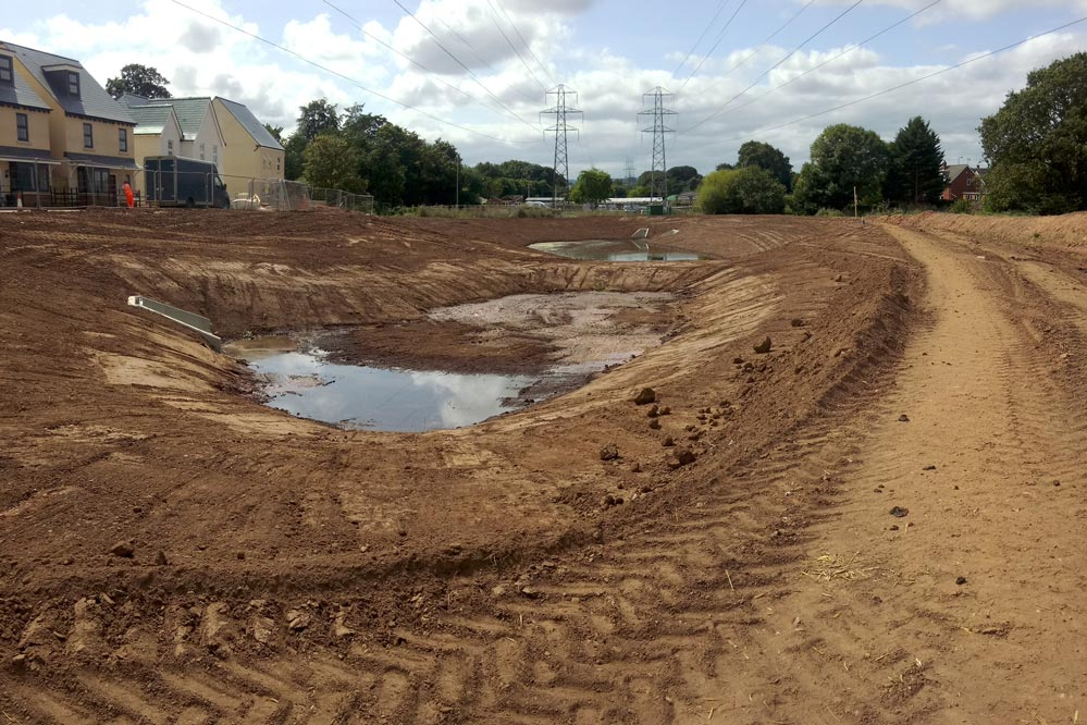New ponds taking shape